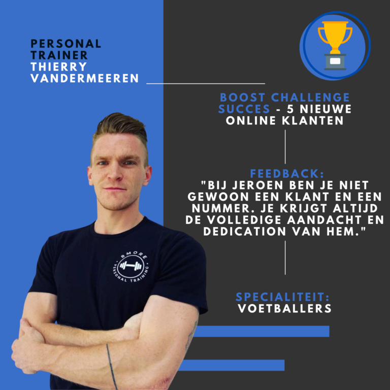 Personal trainer Thierry Vandermeeren