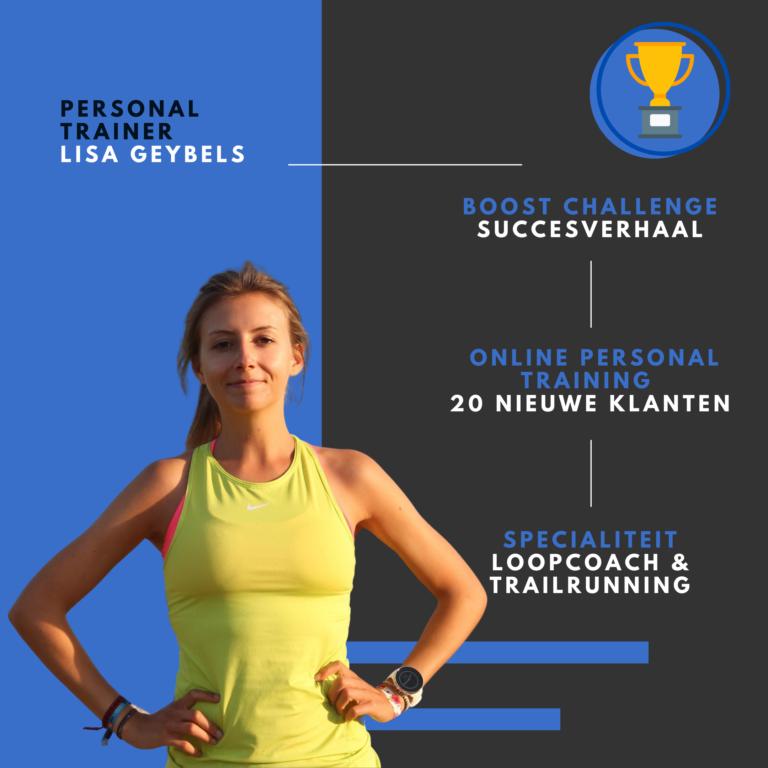 Personal trainer Lisa Geybels