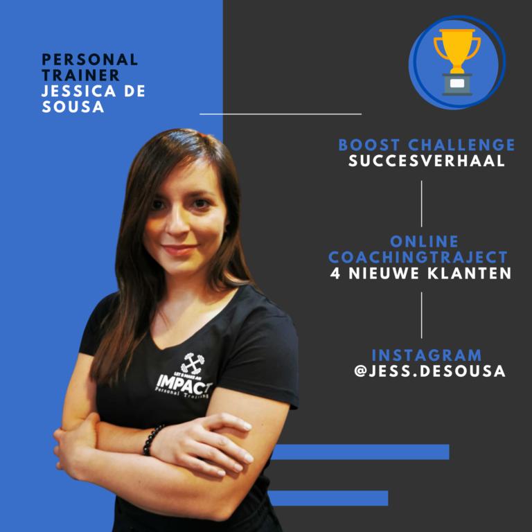 Personal trainer Jessica de soussa