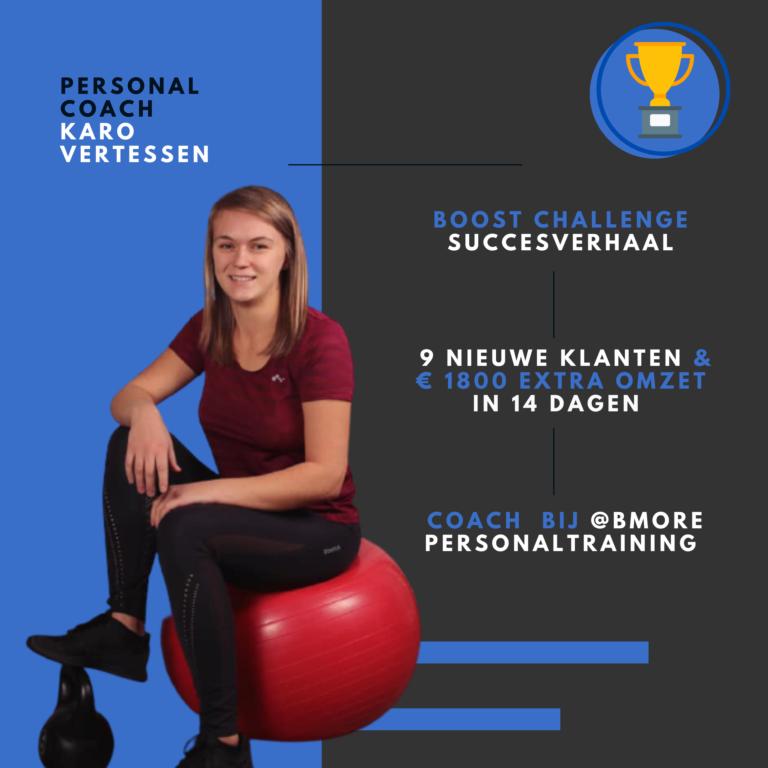 Personal trainer Karo Vertessen