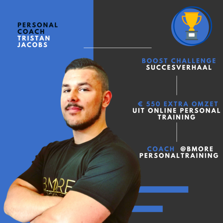 Personal trainer Tristan Jacobs
