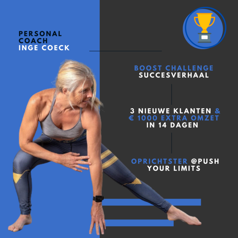 Personal trainer Inge Coeck