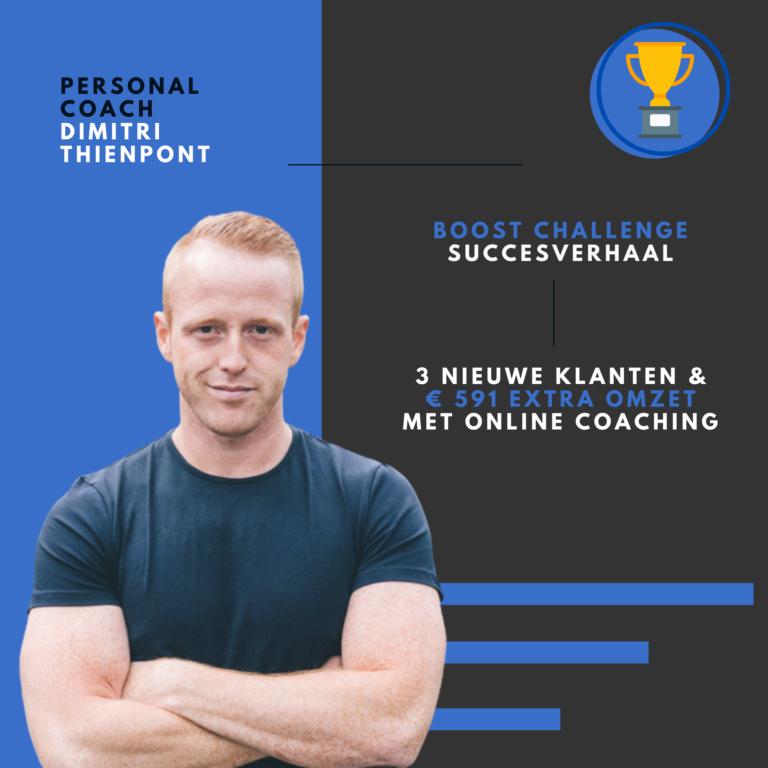 Personal trainer Dimitri Thienpont